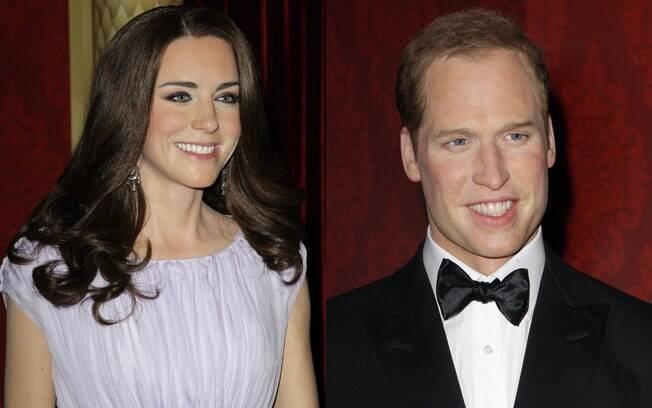 Príncipe harry e Kate Middleton ganharam estátuas de cera do museu Madame Tussauds