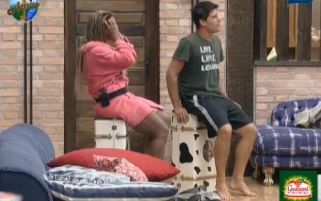 Thiago Gagliasso e Valesca Popozuda ensaiam para o program ao vivo