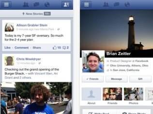 Feed de notícias agora carrega mais rápido no Facebook para iOS e Android