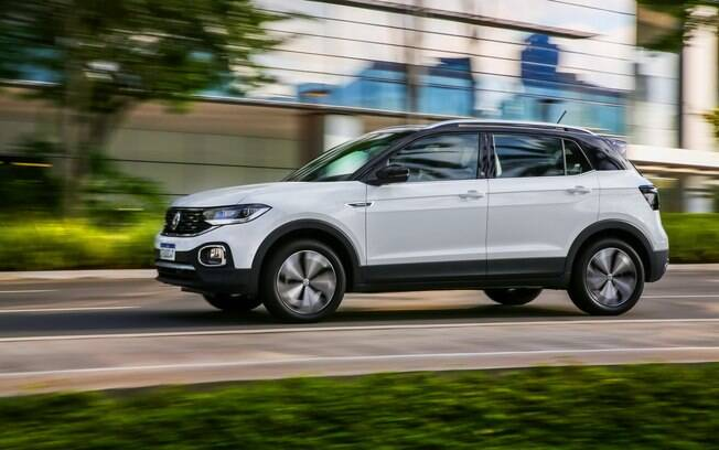 VW T-Cross foi o SUV mais vendido do Brasil; entre os compactos, o Onix voltou a ser destaque como pode ser visto na tabela abaixo