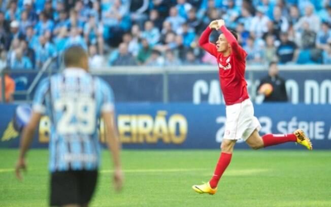 Leandro Damião deixou sua marca na Arena do  Grêmio