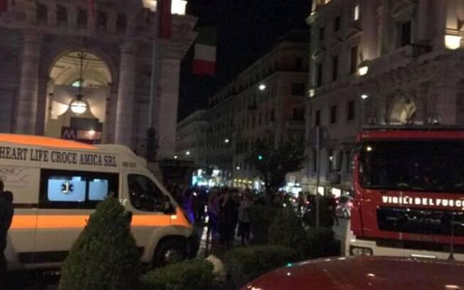 Torcedor russo esfaqueado e incidente no metrô aconteceram antes de partida da Champions League, em Roma