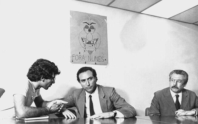 Michel Temer iniciou sua carreira no governo de Franco Montoro em São Paulo, como procurador-geral do Estado e secretário de Segurança Pública. Foto: Arquivo/Estadão Conteúdo - 30.5.1984