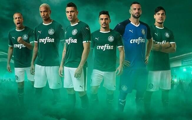 Nova camisa do Palmeiras, produzida pela Puma