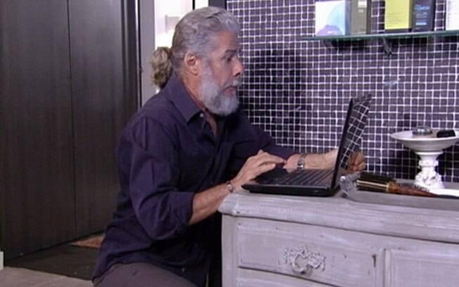 Pereirinha (José Mayer), o primeiro morto vivo de