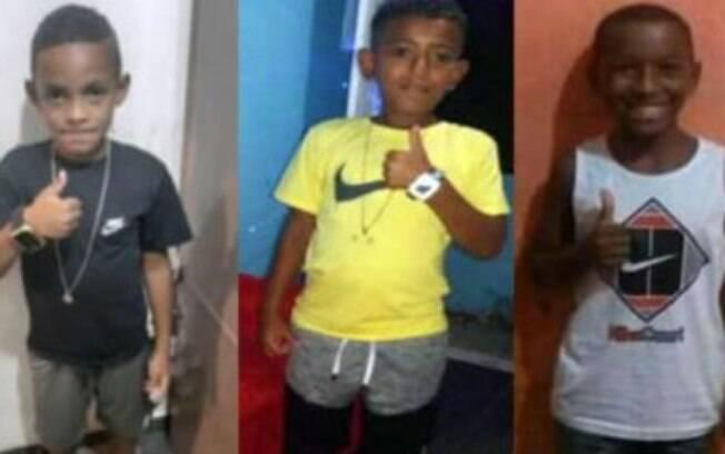Da esquerda para a direita: Lucas, Alexandre e Fernando