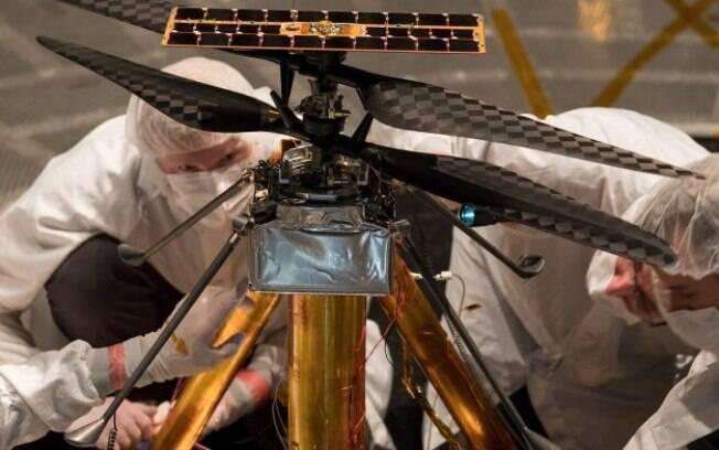 O Mars Helicopter deve ser lançado da Flórida, em 2020
