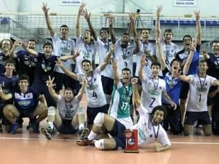 Equipe conquistou o tricampeonato após derrotar o Minas Tênis Clube