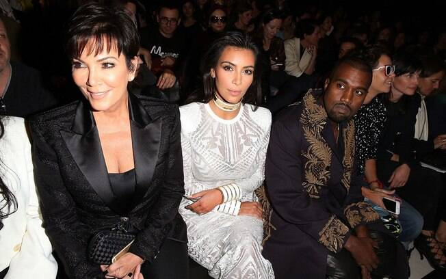 Kris Jenner, Kim Kardashian e Kanye West sãos e salvos