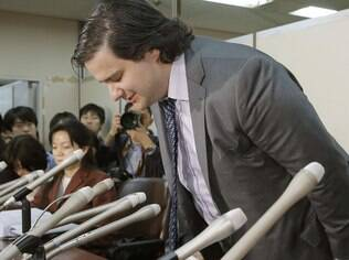 Mark Karpeles: fundador do MT.Gox em depoimento às autoridades japonesas após falência