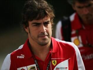 Alonso prevê um bom fim de semana para a Ferrari