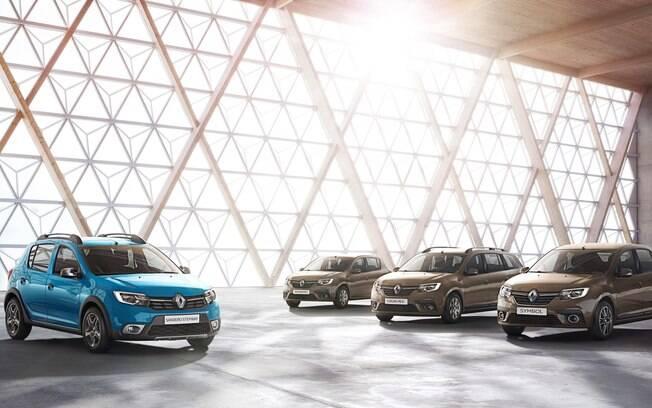 Na Europa, a dupla Renault Sandero e Logan ficaram mais equipadas, com assinatura em LED e assistente de partida em rampas.