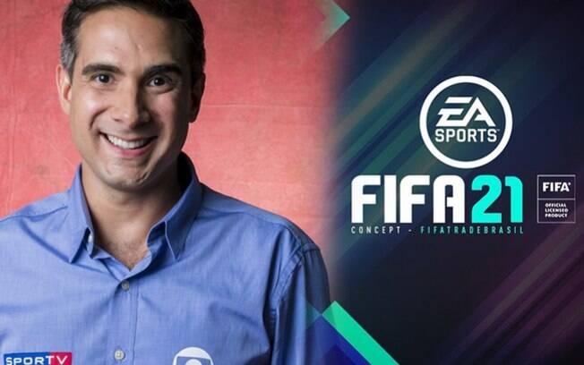 Gustavo Villani será o narrador do Fifa 21