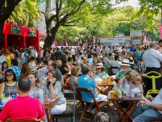 Cidades - Belo Horizonte / Minas Gerais -  BRASIL Festival de Fartura de Gastronomia em BH.  Foto: Uarlen Valerio/ O tempo - 28-09-2014
