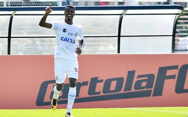 Bruno Henrique no Santos