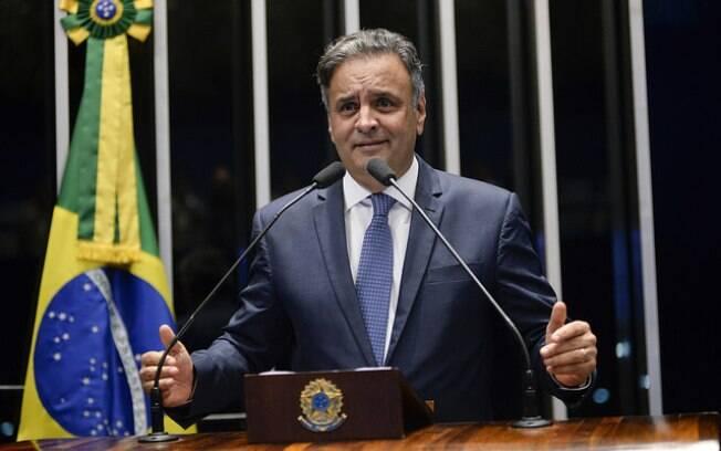 Aécio Neves se tornou réu no STF por corrupção