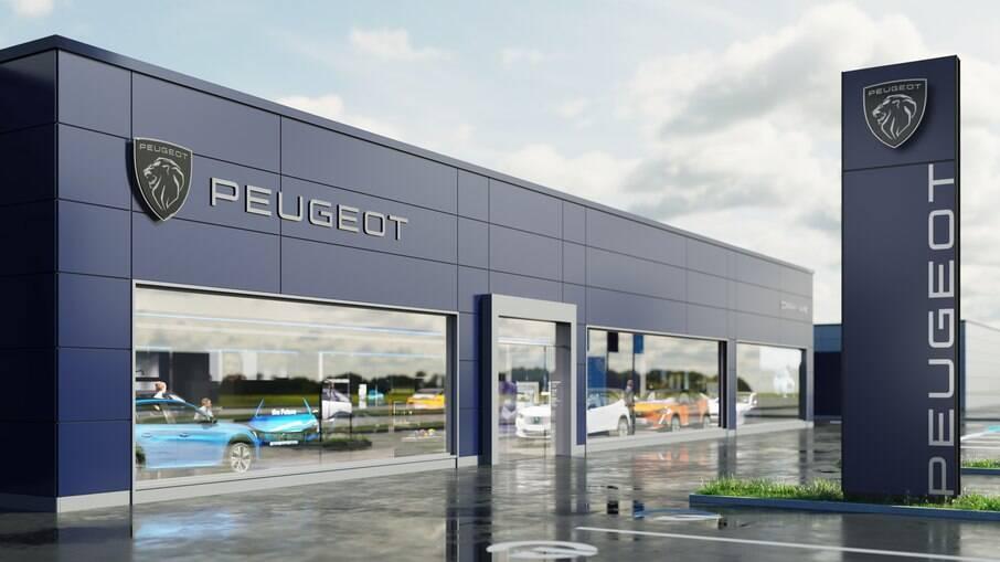 Novo logotipo da Peugeot é uma releitura do símbolo usado nos anos 1960