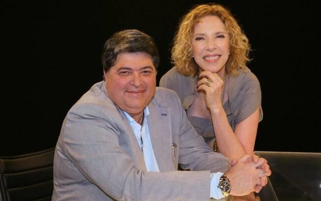 Datena e Marília Gabriela
