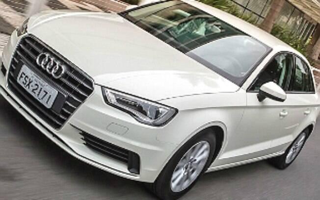 Imagem do modelo A3 da Audi: mulher foi flagrada com 1.112 frutos do mar a mais do que podia