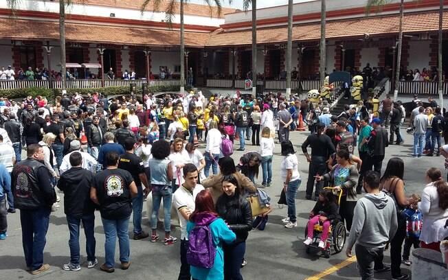 Cerca de 300 crianças estiveram em evento no 2º Batalhão de Choque neste sábado (19)