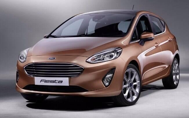 Este deveria ser o nosso Ford Fiesta, exatamente como está na Europa. Porém, ficaremos apenas com o design