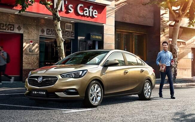 Buick Excelle lançado na China tem as mesmas linhas do novo Chevrolet Prisma que chegará ao Brasil
