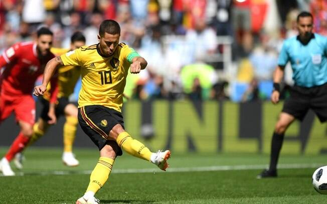 Hazard foi um dos grandes destaques da semifinalista Bélgica na Copa do Mundo na Rússia
