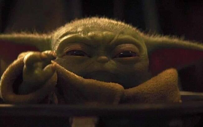 Baby Yoda vai ao espaço com a tripulação da Crew-1