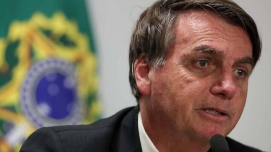 Presidente Jair Bolsonaro diz que imprensa nunca recebeu um tratamento tão