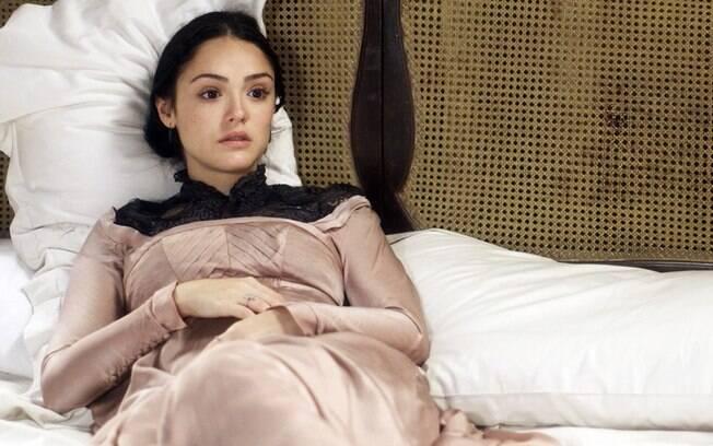 Anna está grávida em