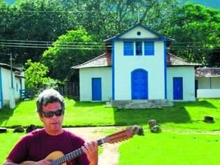 Refúgio. O cantor Roberto Zara dedicou várias semanas à paz da Serra do Cipó para agravar o disco