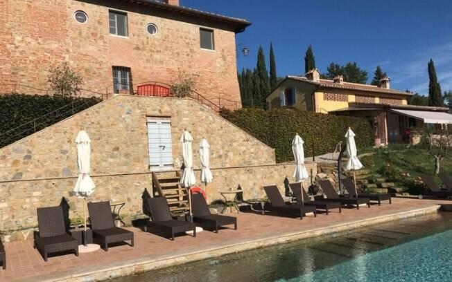 Locanda dell' Artista está localizada em San Gimignano, na Itália, é uma das poucas opções que conta com piscina