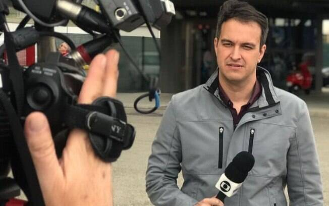 Edson Viana, repórter da Globo