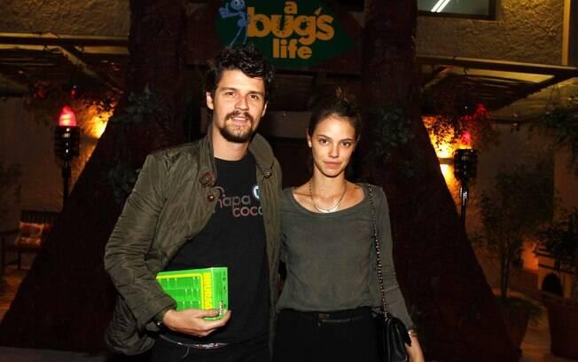 Felipe Solari e Laura Neiva