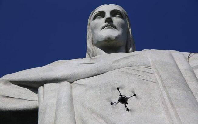 Com ajuda de drones e software, Cristo Redentor ganha versão 3D
