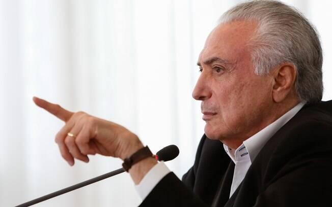 Ex-presidente Michel Temer (MDB) chegou a gravar vídeo se defendo e atacando João Doria (PSDB) durante as eleições 2018