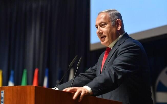 Para o primeiro-ministro israelense, Benjamin Netanyahu, a decisão dos EUA de cortar a ajuda financeira aos refugiados palestinos é importante: