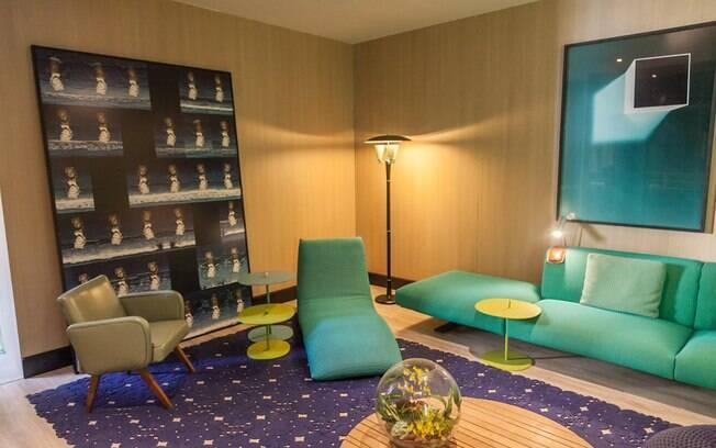 A arquiteta Brunete Fraccaroli assina o espaço Acqua Que Te Quero Água, com 300 m² divididos em sala, ambiente gourmet e suíte