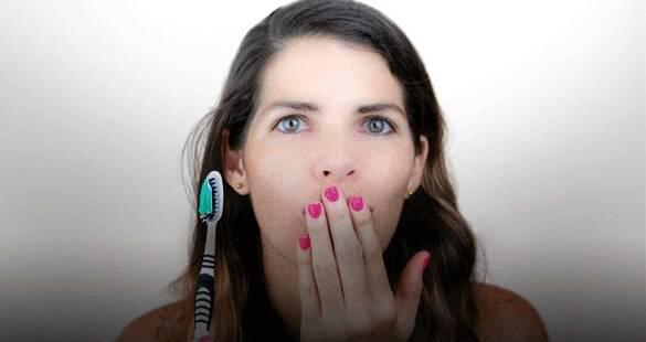 90% dos casos de mau hálito tem origem na má higienização e aqueles 10%?