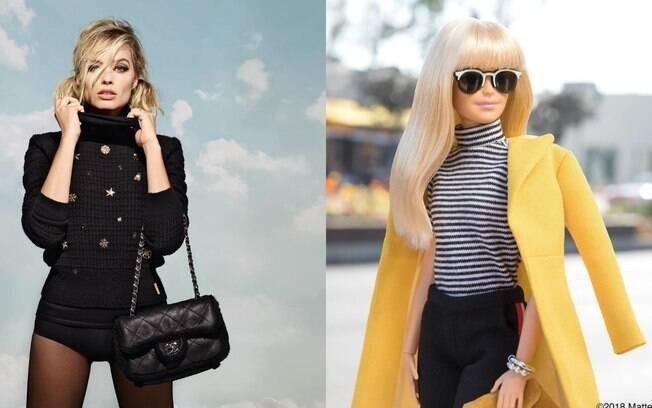 """Margot Robbie (""""Eu, Tonya"""") é uma das principais atrizes para produzir e interpretar o filme da boneca Barbie"""