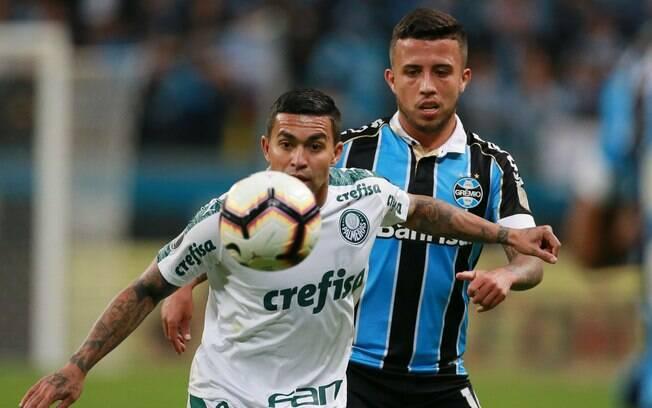 Palmeiras e Grêmio decidem vaga no Pacaembu