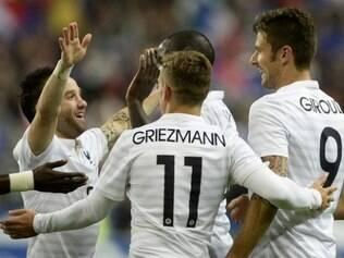 Seleção francesa não tomou conhecimento da Noruega e aplicou um sonoro 4 a 0