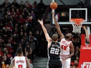Chicago Bulls interrompeu sequência de quatro vitória dos Spurs