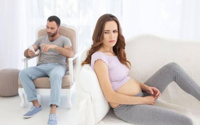 O marido quer que o nome do bebê seja o mesmo da ex-namorada e a gestante não está feliz com a situação; veja