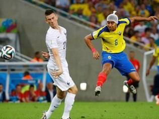 Jogo não foi bom no Rio de Janeiro. Equatorianos não conseguiram vencer a França e se despedem do Mundial