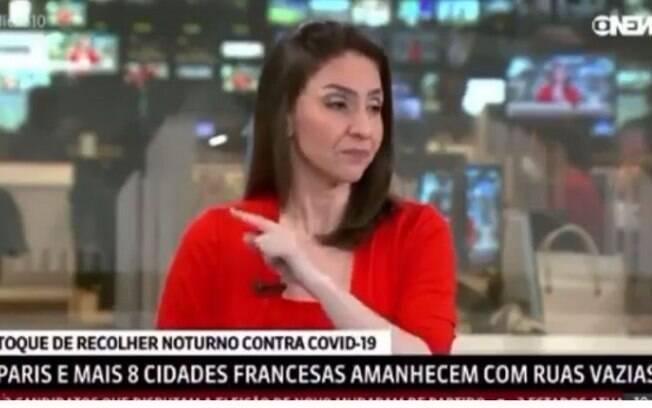 Cecilia Flesch é apresentadora da GloboNews
