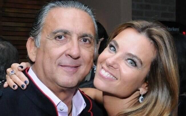 Galvão Bueno e sua mulher%2C Desirée