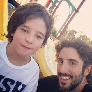 Marcos Mion e Romeo