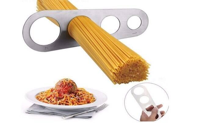 Medidor para porção de espagueti - R$ 9,00
