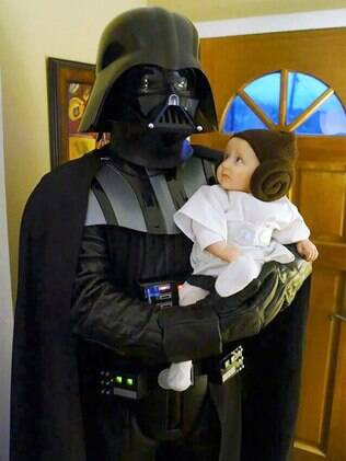 Darth e Princesa Leah